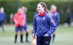 SOUTHAMPTON, ENGLAND - MAY 12: Lucia Kendall during Southampton Women's training session at Staplewood Training Ground on May 12, 2021 in Southampton, England.  (Photo by Isabelle Field/Southampton FC via Getty Images)