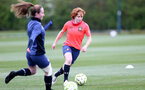 SOUTHAMPTON, ENGLAND - MAY 12: Molly Mott during Southampton Women's training session at Staplewood Training Ground on May 12, 2021 in Southampton, England.  (Photo by Isabelle Field/Southampton FC via Getty Images)