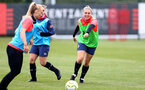 SOUTHAMPTON, ENGLAND - MAY 12: Kelly Fripp during Southampton Women's training session at Staplewood Training Ground on May 12, 2021 in Southampton, England.  (Photo by Isabelle Field/Southampton FC via Getty Images)