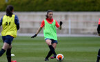 SOUTHAMPTON, ENGLAND - MAY 12: Laura De Silva during Southampton Women's training session at Staplewood Training Ground on May 12, 2021 in Southampton, England.  (Photo by Isabelle Field/Southampton FC via Getty Images)