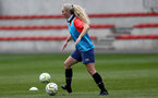SOUTHAMPTON, ENGLAND - MAY 12: Jess Tanner during Southampton Women's training session at Staplewood Training Ground on May 12, 2021 in Southampton, England.  (Photo by Isabelle Field/Southampton FC via Getty Images)