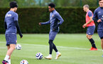 SOUTHAMPTON, ENGLAND - MAY 17: Kyle Walker-Peters during a Southampton FC training session at the Staplewood Campus on May 17, 2021 in Southampton, England. (Photo by Matt Watson/Southampton FC via Getty Images)