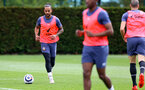 SOUTHAMPTON, ENGLAND - MAY 17: Nathan Redmond during a Southampton FC training session at the Staplewood Campus on May 17, 2021 in Southampton, England. (Photo by Matt Watson/Southampton FC via Getty Images)