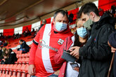 Supporter guidance for safely visiting St Mary's