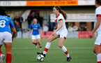 HAVANT, ENGLAND - MAY 19: Lucia Kendall of Southampton during the Hampshire FA Women's Senior Cup Final against Portsmouth Women and Southampton Women at Westleigh Park on May 19, 2021 in Havant, England. (Photo by Isabelle Field/Southampton FC via Getty Images)
