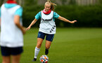 SOUTHAMPTON, ENGLAND - July 08: Catilin Morris during Southampton Women's per season training session at Staplewood training ground on July 08, 2021 in Southampton, England. (Photo by Isabelle Field/Southampton FC via Getty Images)