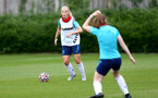 SOUTHAMPTON, ENGLAND - July 08: Rachel Panting during Southampton Women's per season training session at Staplewood training ground on July 08, 2021 in Southampton, England. (Photo by Isabelle Field/Southampton FC via Getty Images)