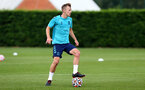 SOUTHAMPTON, ENGLAND - JULY 13: James Ward-Prowse during pre-season training session at Staplewood Complex on July 13, 2021 in Southampton, England. (Photo by Isabelle Field/Southampton FC via Getty Images)