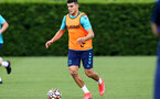 SOUTHAMPTON, ENGLAND - JULY 13: Mohamed Elyounoussi during pre-season training session at Staplewood Complex on July 13, 2021 in Southampton, England. (Photo by Isabelle Field/Southampton FC via Getty Images)