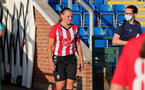 SOUTHAMPTON, ENGLAND - July 20: Shannon Sievwright of Southampton during per-season friendly between Saints Women and Southampton Women Development team at The Snows Stadium on July 20, 2021 in Southampton, England. (Photo by Isabelle Field/Southampton FC via Getty Images)