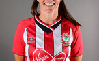 SOUTHAMPTON, ENGLAND - July 20: Leeta Rutherford during Southampton Women's headshot shoot for 2021-22 season at The Snows Stadium on July 20, 2021 in Southampton, England. (Photo by Isabelle Field/Southampton FC via Getty Images)