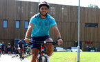 SOUTHAMPTON, ENGLAND - JULY 21: during a pre season day of cycling around The New forest, July 21, 2021 in Southampton, England. (Photo by Matt Watson/Southampton FC via Getty Images)