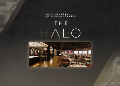 Experience hospitality in The Halo