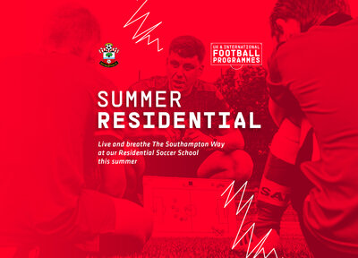 Take part in the Saints Summer Residential