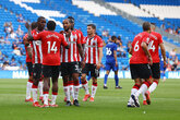 Saints ease to victory at Cardiff
