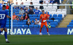 CARDIFF, WALES - JULY 27: Fraser Forster of Southampton during the Pre-Season Friendly match between Cardiff City and Southampton at Cardiff City Stadium on July 27, 2021 in Cardiff, Wales. Photo by Matt Watson/Southampton FC via Getty Images