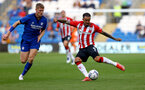 CARDIFF, WALES - JULY 27: Danny Ings(R) of Southampton during the Pre-Season Friendly match between Cardiff City and Southampton at Cardiff City Stadium on July 27, 2021 in Cardiff, Wales. Photo by Matt Watson/Southampton FC via Getty Images