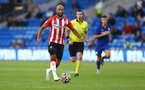 CARDIFF, WALES - JULY 27: Nathan Redmond of Southampton during the Pre-Season Friendly match between Cardiff City and Southampton at Cardiff City Stadium on July 27, 2021 in Cardiff, Wales. Photo by Matt Watson/Southampton FC via Getty Images