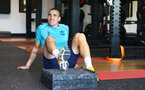 CARDIFF, WALES - JULY 28: Oriol Romeu during a Southampton FC pre-season recovery session at The Vale Resort, Vale of Glamorgan on July 28, 2021 in Cardiff, Wales. Photo by Matt Watson/Southampton FC via Getty Images