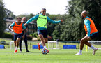 CARDIFF, WALES - JULY 29: Mohamed Elyounoussi during a Southampton FC pre season training session at the Vale Resort, Vale of Glamorgan on July 29, 2021 in Cardiff, Wales. (Photo by Matt Watson/Southampton FC via Getty Images)