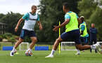 CARDIFF, WALES - JULY 29: Oriol Romeu during a Southampton FC pre season training session at the Vale Resort, Vale of Glamorgan on July 29, 2021 in Cardiff, Wales. (Photo by Matt Watson/Southampton FC via Getty Images)
