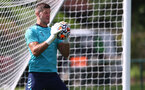 CARDIFF, WALES - JULY 29: Fraser Forster during a Southampton FC pre season training session at the Vale Resort, Vale of Glamorgan on July 29, 2021 in Cardiff, Wales. (Photo by Matt Watson/Southampton FC via Getty Images)