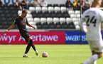 SWANSEA, WALES - JULY 31: Jan Bednarek of Southampton during the pre-season friendly match between Swansea City and Southampton FC, at The Liberty Stadium on July 31, 2021 in Swansea, Wales. (Photo by Matt Watson/Southampton FC via Getty Images)