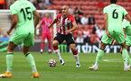 SOUTHAMPTON, ENGLAND - AUGUST 07: Oriol Romeu of during the pre season friendly match between Southampton FC and Athletic Club at St Mary's Stadium on August 07, 2021 in Southampton, England. (Photo by Matt Watson/Southampton FC via Getty Images)