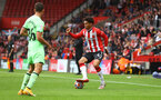 SOUTHAMPTON, ENGLAND - AUGUST 07: Oludare Olufunwa of Southampton during the pre season friendly match between Southampton FC and Athletic Club at St Mary's Stadium on August 07, 2021 in Southampton, England. (Photo by Matt Watson/Southampton FC via Getty Images)