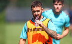 SOUTHAMPTON, ENGLAND - AUGUST 11: Adam Armstrong during a Southampton FC training session at the Staplewood Campus on August 11, 2021 in Southampton, England. (Photo by Matt Watson/Southampton FC via Getty Images)