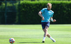 SOUTHAMPTON, ENGLAND - AUGUST 11: Stuart Armstrong during a Southampton FC training session at the Staplewood Campus on August 11, 2021 in Southampton, England. (Photo by Matt Watson/Southampton FC via Getty Images)