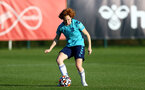 SOUTHAMPTON, ENGLAND - AUGUST 10: Molly Mott during Southampton women's pre season training session at Staplewood Training Ground on August 10, 2021 in Southampton, England. (Photo by Isabelle Field/Southampton FC via Getty Images)