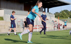 SOUTHAMPTON, ENGLAND - AUGUST 10: Ella Morris during Southampton women's pre season training session at Staplewood Training Ground on August 10, 2021 in Southampton, England. (Photo by Isabelle Field/Southampton FC via Getty Images)