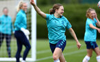 SOUTHAMPTON, ENGLAND - AUGUST 17: Lucia Kendall during Southampton Women's training session at  Staplewood Training Ground on August 17, 2021 in Southampton, England. (Photo by Isabelle Field/Southampton FC via Getty Images)