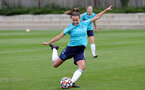 SOUTHAMPTON, ENGLAND - AUGUST 17: Sophia Pharoah during Southampton Women's training session at  Staplewood Training Ground on August 17, 2021 in Southampton, England. (Photo by Isabelle Field/Southampton FC via Getty Images)