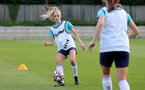 SOUTHAMPTON, ENGLAND - AUGUST 17: Phoebe Williams during Southampton Women's training session at  Staplewood Training Ground on August 17, 2021 in Southampton, England. (Photo by Isabelle Field/Southampton FC via Getty Images)