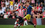 SOUTHAMPTON, ENGLAND - AUGUST 22: Oriol Romeu during the Premier League match between Southampton and Manchester United at St Mary's Stadium on August 22, 2021 in Southampton, England. (Photo by Chris Moorhouse/Southampton FC via Getty Images)