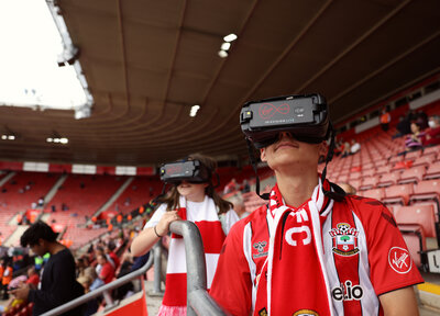 Virgin Media Super Sight youngsters visit St Mary's