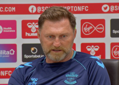 Press Conference (part two): Hasenhüttl on Man City test