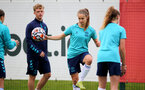 SOUTHAMPTON, ENGLAND - AUGUST 31: Katie Rood during Southampton Women's training session at  Staplewood Training Ground on August 31, 2021 in Southampton, England. (Photo by Isabelle Field/Southampton FC via Getty Images)