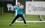 SOUTHAMPTON, ENGLAND - AUGUST 31: Kayla Rendell during Southampton Women's training session at  Staplewood Training Ground on August 31, 2021 in Southampton, England. (Photo by Isabelle Field/Southampton FC via Getty Images)