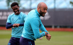 SOUTHAMPTON, ENGLAND - SEPTEMBER 01: Nathan Redmond  during Southampton training session at Staplewood Complex on September 01, 2021 in Southampton, England. (Photo by Isabelle Field/Southampton FC via Getty Images)