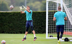 SOUTHAMPTON, ENGLAND - SEPTEMBER 01: Alex McCarthy during Southampton training session at Staplewood Complex on September 01, 2021 in Southampton, England. (Photo by Isabelle Field/Southampton FC via Getty Images)