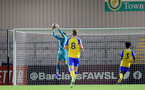 BOREHAMWOOD, ENGLAND - SEPTEMBER 02: Oliver Wright(L) of Southampton during the Premier League Cup match between Arsenal and Southampton B Team at Meadow Park on September 02, 2021 in Borehamwood, England. (Photo by Isabelle Field/Southampton FC )