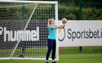 SOUTHAMPTON, ENGLAND - SEPTEMBER 08: Kayla Rendell during Southampton Women's training at Staplewood Training Ground on September 08, 2021 in Southampton, England. (Photo by Isabelle Field/Southampton FC via Getty Images)