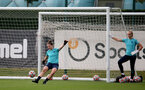 SOUTHAMPTON, ENGLAND - SEPTEMBER 08: Sara Luce during Southampton Women's training at Staplewood Training Ground on September 08, 2021 in Southampton, England. (Photo by Isabelle Field/Southampton FC via Getty Images)
