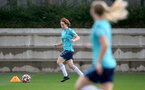 SOUTHAMPTON, ENGLAND - SEPTEMBER 08: Molly Mott during Southampton Women's training at Staplewood Training Ground on September 08, 2021 in Southampton, England. (Photo by Isabelle Field/Southampton FC via Getty Images)