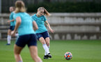 SOUTHAMPTON, ENGLAND - SEPTEMBER 08: Ella Pusey during Southampton Women's training at Staplewood Training Ground on September 08, 2021 in Southampton, England. (Photo by Isabelle Field/Southampton FC via Getty Images)