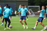 Gallery: Working up to Man City