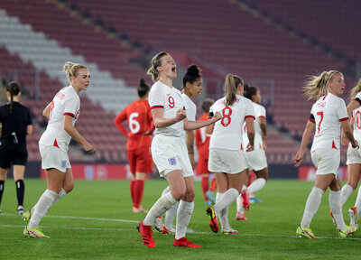 Gallery: Lionesses 8-0 North Macedonia